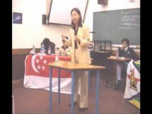 WSDC 2001 Round 8: Singapore vs Zimbabwe