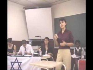 WSDC 2001 Round 7: Israel vs Singapore