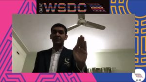 Online WSDC 2020 Octo-finals: Pakistan vs Ireland