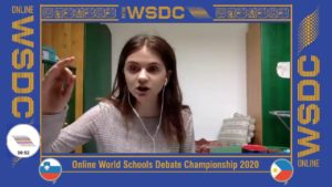 Online WSDC 2020 Partial Double Octo-finals: Slovenia vs Philippines