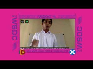 Online WSDC 2020 Partial Double Octo-finals: Sri Lanka vs Scotland
