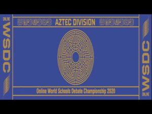 Online WSDC 2020 Round 1: USA vs Ghana
