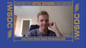 Online WSDC 2020 Round 2: Netherlands vs Greece