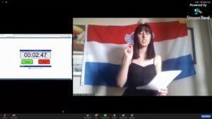 Online WSDC 2020 Round 3: Croatia vs Serbia