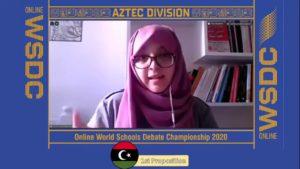Online WSDC 2020 Round 3: Lybia vs Mexico