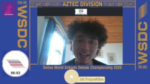 Online WSDC 2020 Round 3: Colombia vs Panama