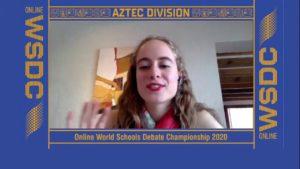 Online WSDC 2020 Round 4: Romania vs Mexico
